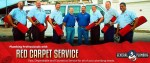 Our red carpet service division