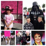 Firemen and Star Wars characters support Breast Cancer Awareness too!